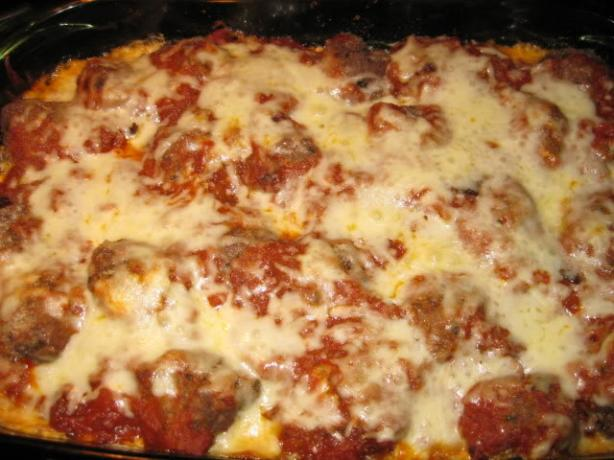 Meatball Sub Casserole. Photo by Chef Petunia