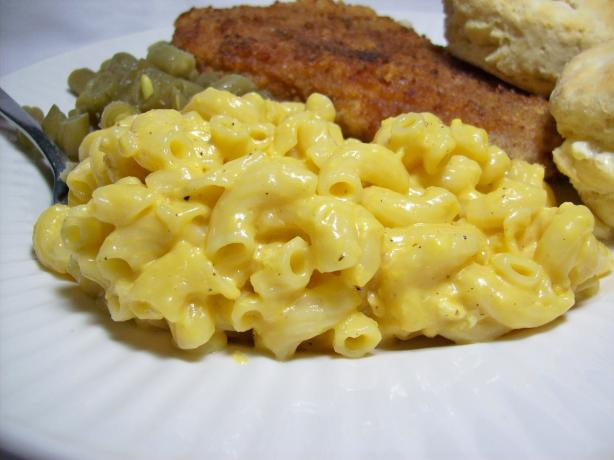 Stove Top Mac-N-Cheese by Alton Brown. Photo by Chef shapeweaver ©
