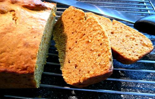 Pan Dulce De Calabaza - Sweet Pumpkin Bread. Photo by Mikekey