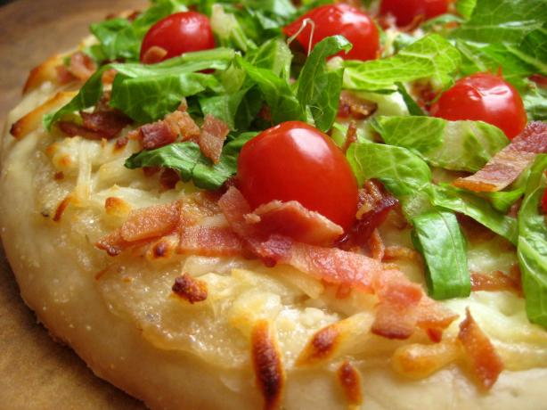 BLT Pizza. Photo by gailanng
