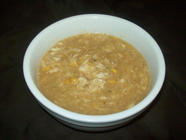Easy Crabmeat and Corn Soup. Photo by Angel Stowe