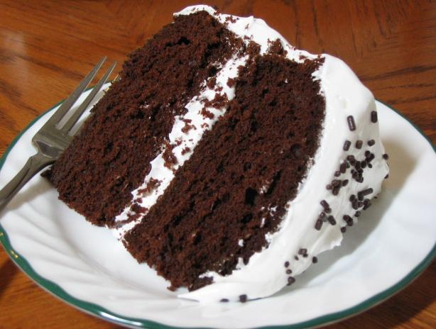 Cibo del diavolo Cake.  Foto di Breezytoo