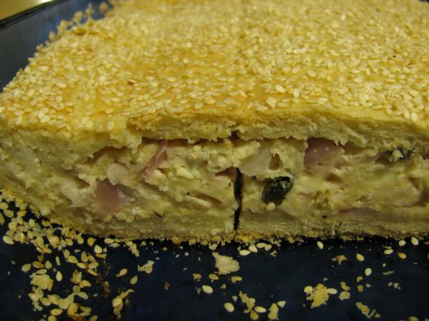 Kalasouna - Cheese and Onion Pie. Photo by zaar junkie