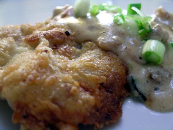 Chicken Fried Steak and Cream Gravy. Photo by Rinshinomori