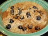 Power Oatmeal With Blueberries and Flax