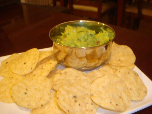 Easy Guacamole. Photo by Barenaked Chef