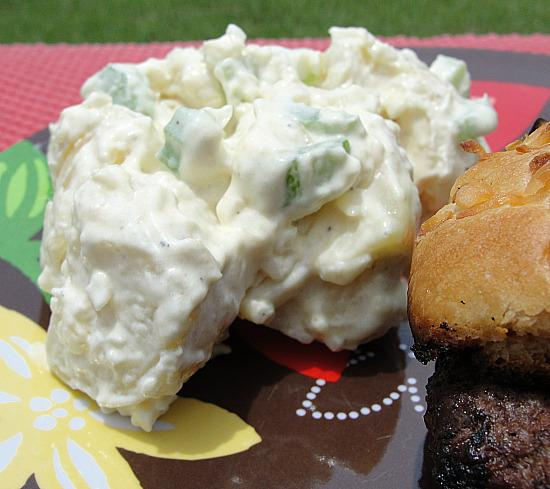 Creamy Potato Salad. Photo by diner524