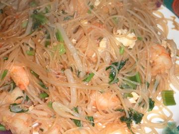 Shrimp Pad Thai. Photo by Leggy Peggy