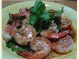 Drunken Lemongrass Shrimp