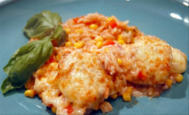 Spanish Chicken & Rice Bake. Photo by -Sylvie-