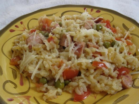 Oven-Baked Risotto (Several Variations). Photo by WiGal