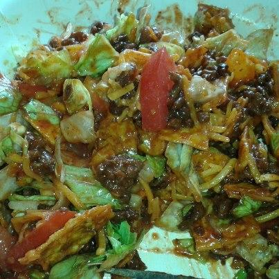 Taco Salad. Photo by Wife2uRick