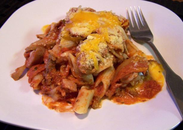 Meaty Pasta Casserole. Photo by Proud Veteran's wife