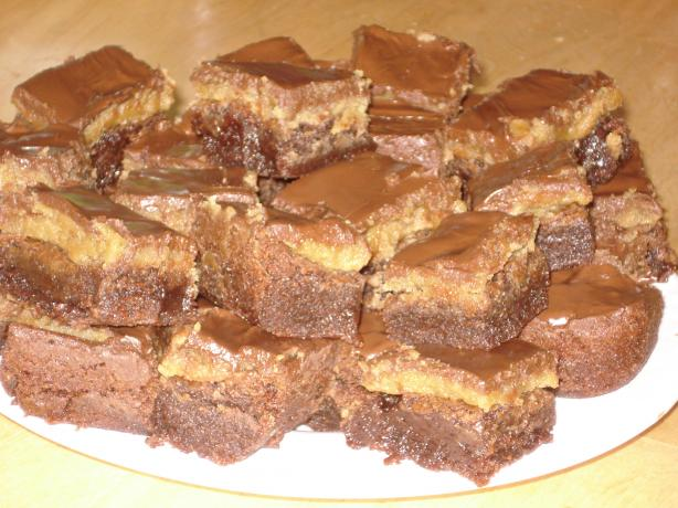 Cookie Dough Brownies. Photo by Muffin Goddess