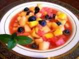 Icy Cold Summer Fruit Soup