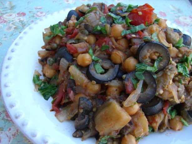 Italian Eggplant Ragout. Photo by Chef*Lee