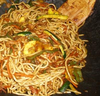 Chicken Chow Mein - Easy!. Photo by Karen Elizabeth