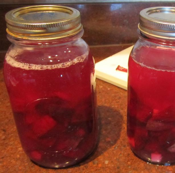 Beet Kvass. Photo by Rita~