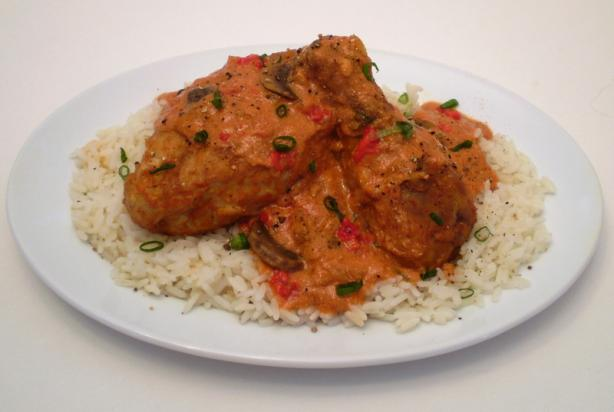 Chicken Paprikash (Popperkosh). Photo by TasteTester