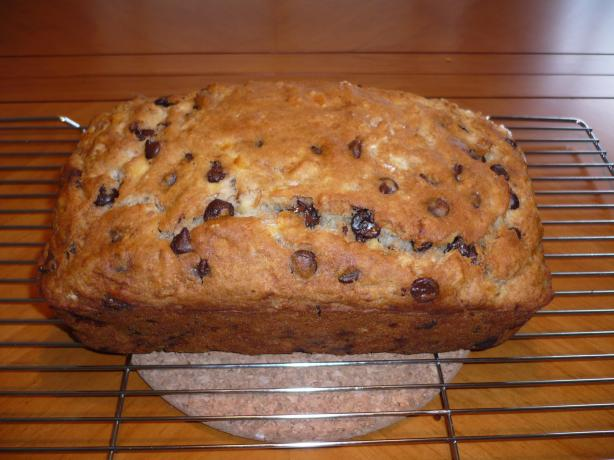 Gluten-Free Choco-Banana Loaf. Photo by katii