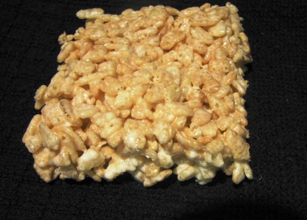 C T's Microwave Krispy Treats. Photo by loof