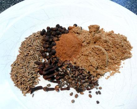Spice Garam Masala. Photo by Mikekey