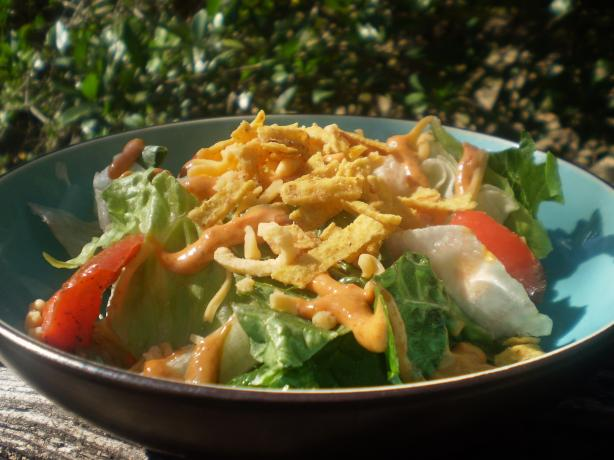 Tortilla Ranch Chopped Salad. Photo by breezermom