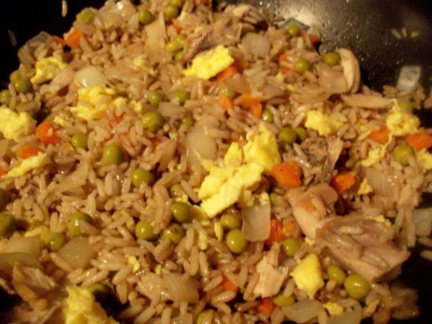Chinese Take-Out Fried Rice. Photo by mightyro_cooking4u