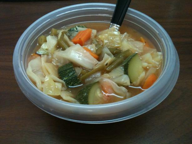 Weight Watchers 0 Point  Garden Vegetable  Soup. Photo by Chef #1442674