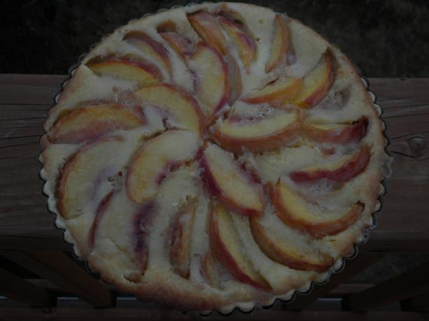 Best Peach Tart-Paula Deen. Photo by Battle in Seattle