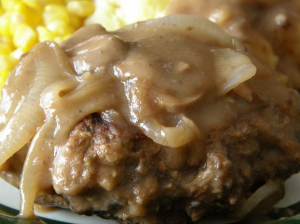 Kittencal's Salisbury Steak With Mushrooms and Onion Gravy. Photo by mydesigirl