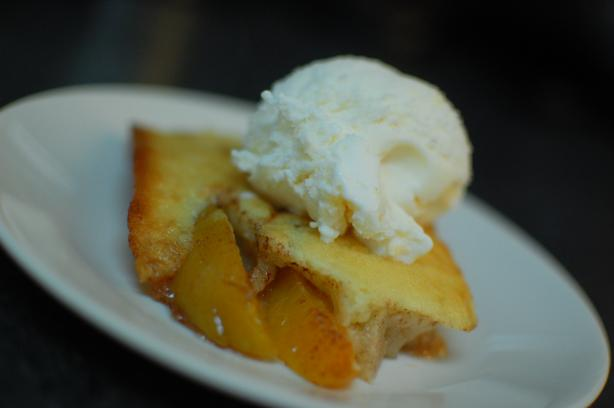 Peach Cobbler. Photo by run for your life