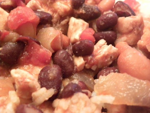Southwestern Style Beans and Rice With Chicken. Photo by Mama_Jennie