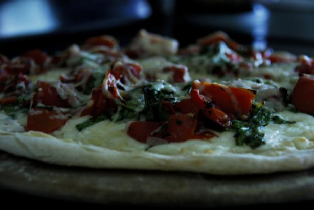 Olive Garden Caprese Flatbread. Photo by Chef #979396