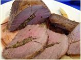 Pineapple/Herb Stuffed Eye of Round or Pork Tenderloin