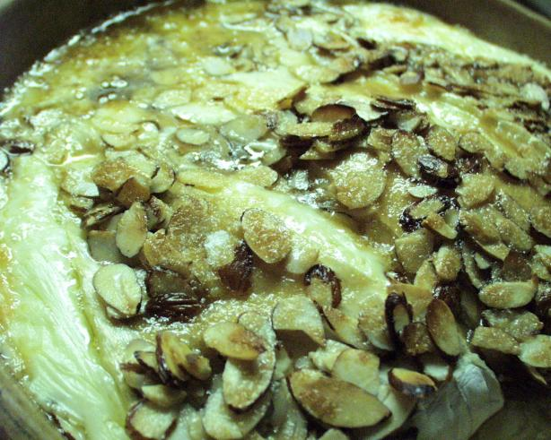 Brie With Brown Sugar and Almonds. Photo by FLKeysJen