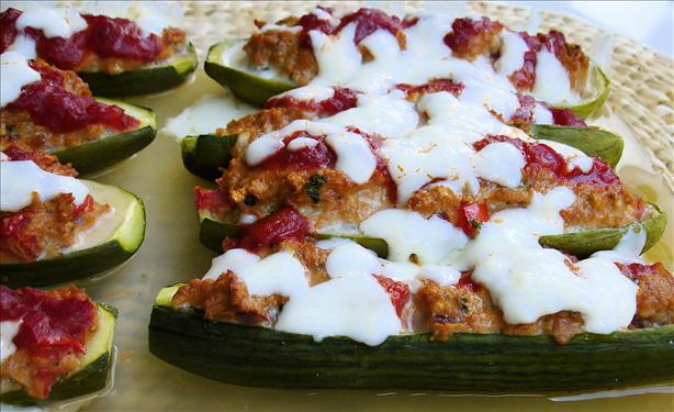 Stuffed Zucchini. Photo by Teocalli