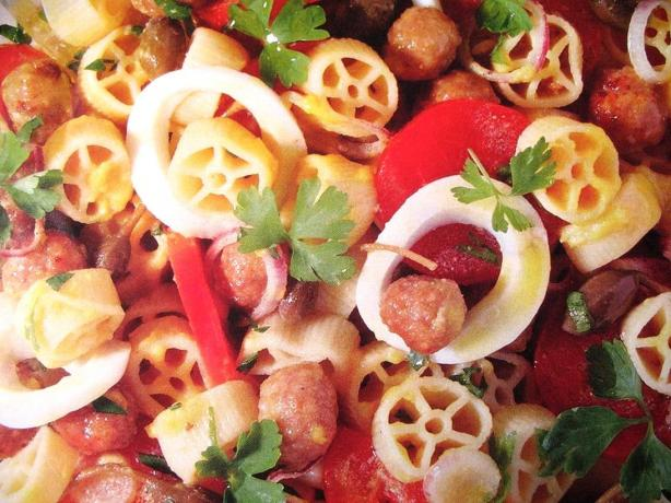 Very Italian Pasta Salad. Photo by MsPia