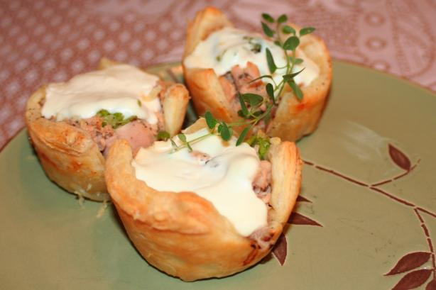 Tuna Puff Pies. Photo by Alison J.