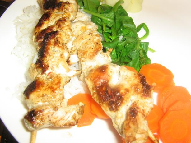 Thai Chicken Skewers. Photo by I'mPat