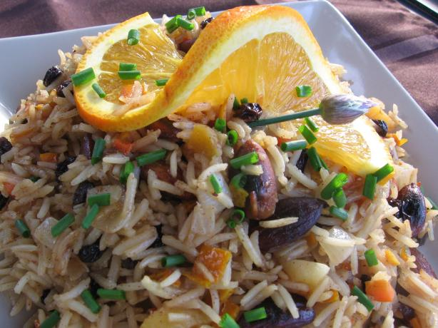 Moroccan Pilaf. Photo by K9 Owned