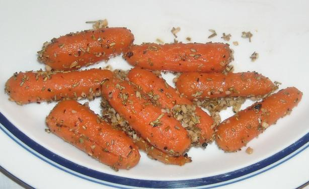 Rosemary-Roasted Carrots. Photo by NorthwestGal