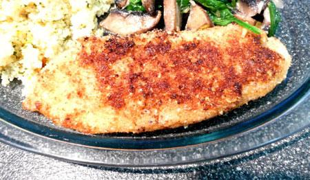 Pan-Fried Fish Almondine. Photo by Mikekey
