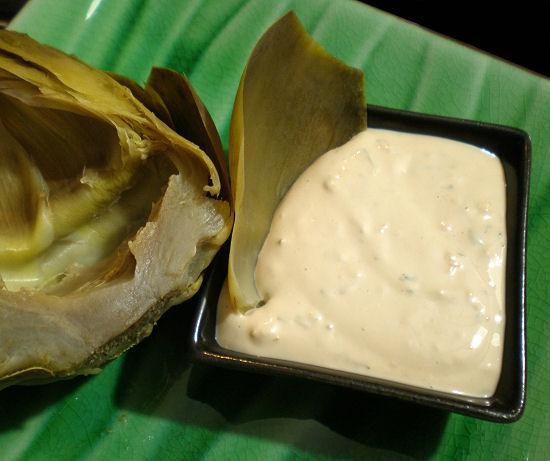 Mom's Best Dipping Sauce for Steamed Artichoke. Photo by Sandi (From CA)
