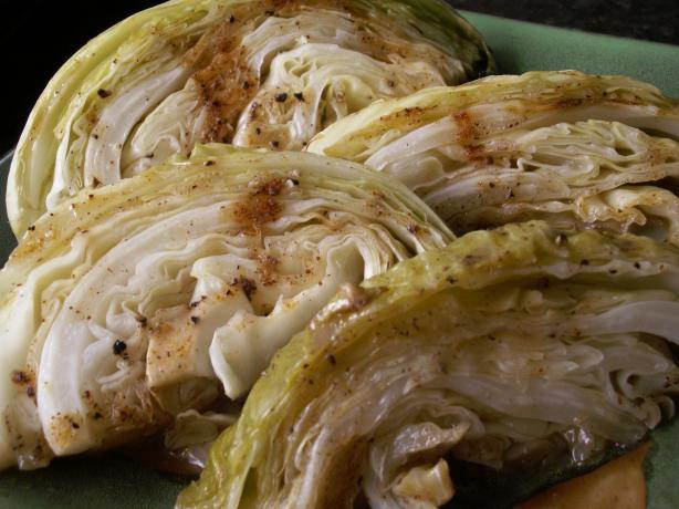 Grilled Cabbage by Richard. Photo by JanuaryBride