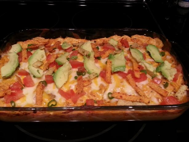 Sour Cream Chicken Enchiladas. Photo by chicchicky