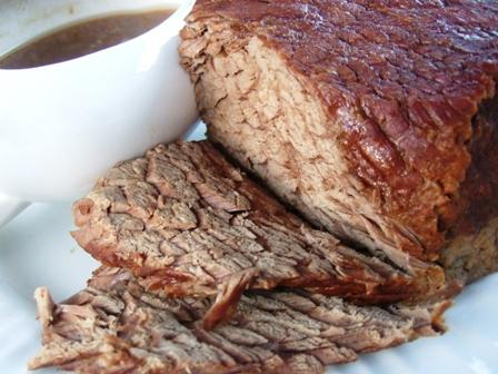 Crock Pot Roast Beef With Gravy. Photo by HokiesMom