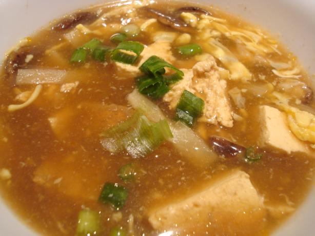 America's Test Kitchen Hot Sour Soup. Photo by Starrynews