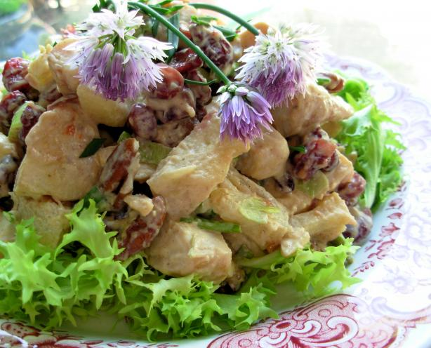 Fruit & Nut Chicken Salad. Photo by French Tart
