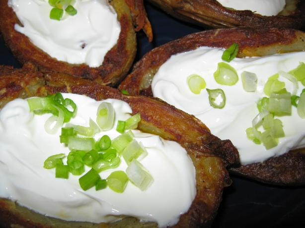 Baked Potato Skins. Photo by threeovens